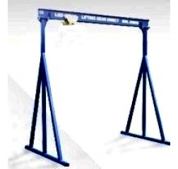 1000KG A Frame Lifting Gantry with 3MTR Under beam x 5MTR Span