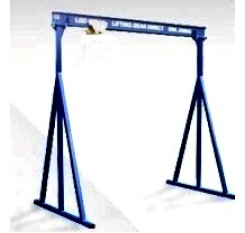 1000KG A Frame Lifting Gantry with 4.5MTR Under beam x 3MTR Span