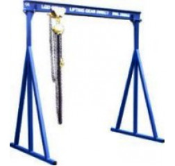 500KG A Frame Lifting Gantry with 3MTR Under beam x 4MTR Span