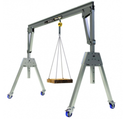 2000KG Aluminium Lifting Gantry