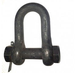 BS Small D Shackle with Safety Bolt