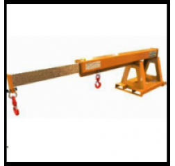 Extending Forklift Jib Arm - Contact FMX