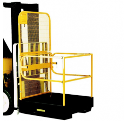 Folding Forklift Safety Cage - Contact FAWP-SP
