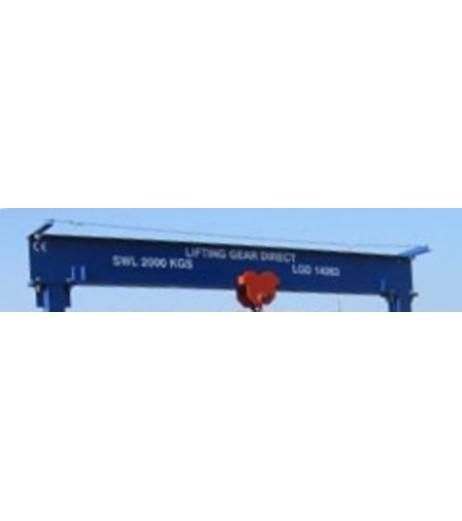 2000KG A Frame Lifting Gantry with 3MTR Under beam x 4MTR Span