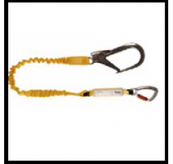 Yale CMHABMLE101 Elasticated Fall Arrest Webbing Lanyard