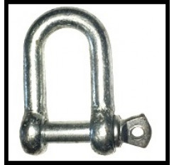 Commercial D Shackles