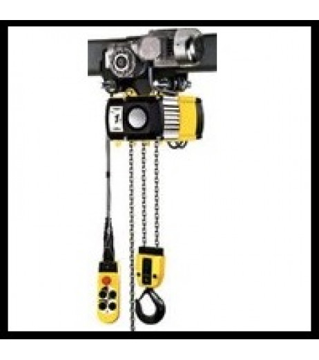 Yale CPV/F 5-4 Electric Hoist with Integrated Trolley