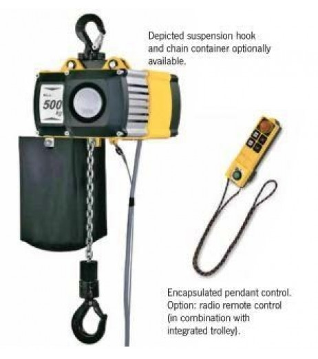 Yale CPV/F 5-4 Electric Hoist