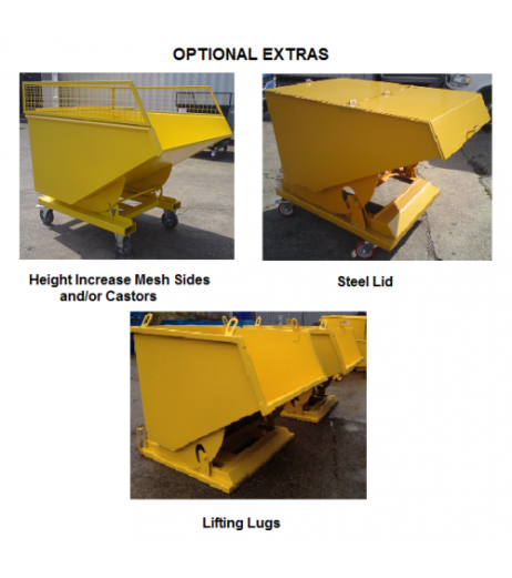 Tipping Skip - Economy DtEC DTS 750