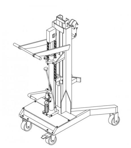 Hydraulic Drum Loader Raptor DTF450