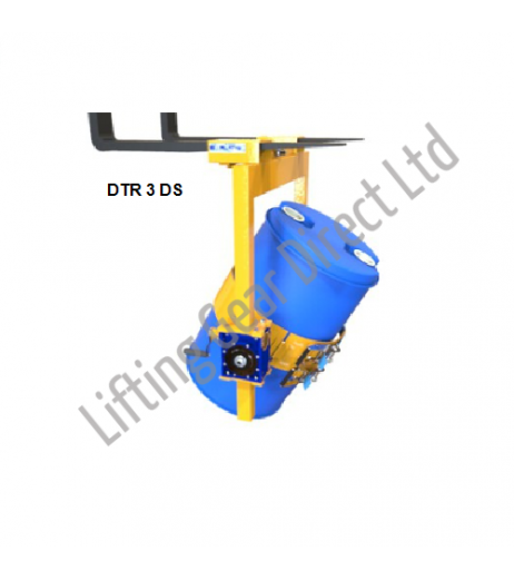 Fork or Crane Mounted Drum Rotater Contact DTR DS 3&4