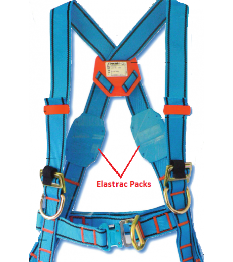 Tractel HT54 Safety Harness (elastrac option)