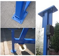 5000kg A-Frame Lifting Gantry