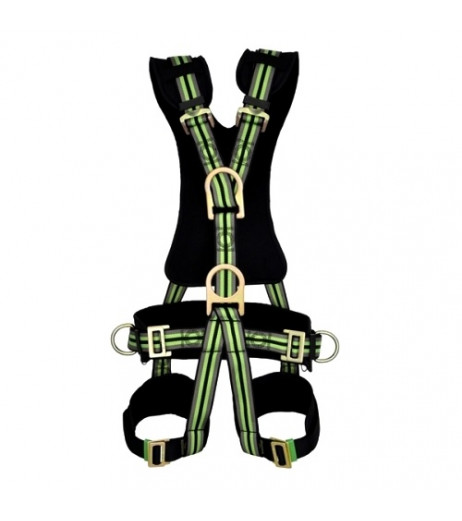 Kratos Fa 10 206 00 5 Point Comfort Full Body Harness