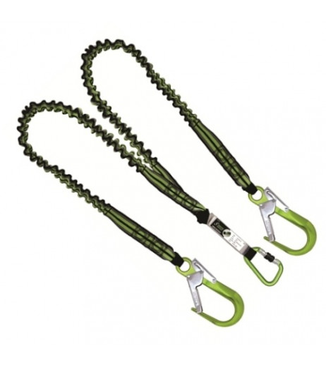 Kratos FA 30 810 15 'Y' Forked Shock Absorbing Expandable Lanyard