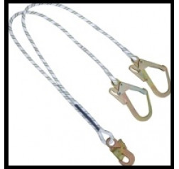 Kratos FA 40 600 15 'Y' Forked Kernmantle Rope Lanyard