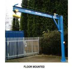125kg Under Braced Swing Jib Crane