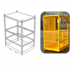 Crane Slung Safety Cage Contact FWP-CS