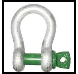 Green Pin Bow Shackle