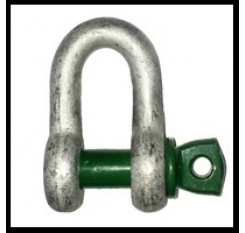 Green Pin D Shackle