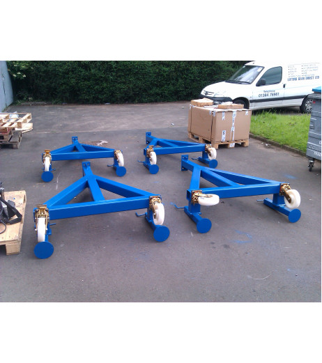 5000KG Mobile Lifting Gantry with 5MTR Under beam x 5MTR Span