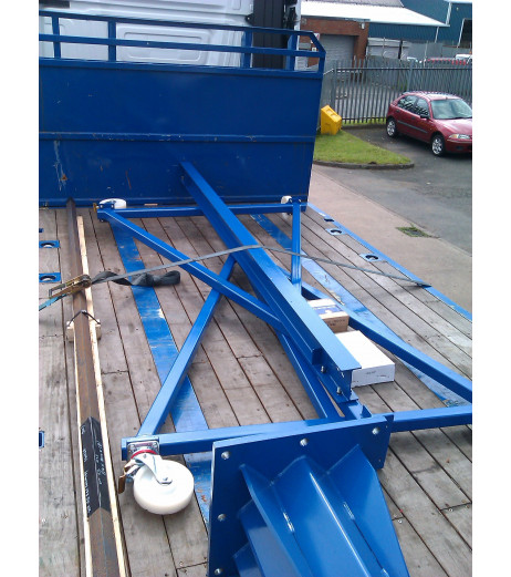 3000KG Mobile Gantry Crane with 4.5MTR Under beam x 3MTR Span