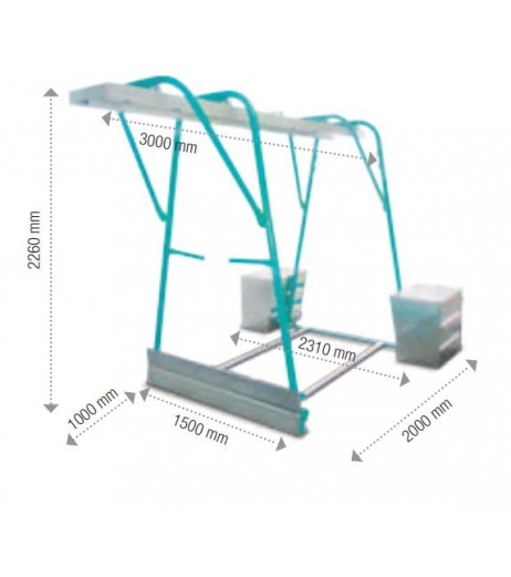 IMER Gantry Frame