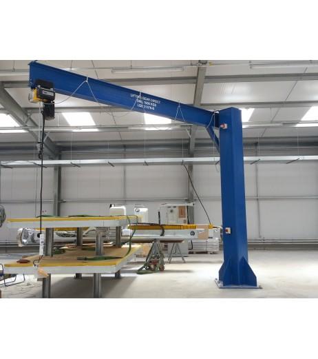 Under braced 500KG 3MTR Under beam x 4MTR Arm