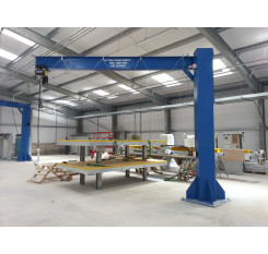 3000kg Under Braced Swing Jib