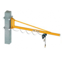 Demag KBK Over Braced Lightweight Wall Mounted Jib Crane