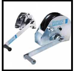 Lightweight Wire rope Winch - Console Mounted