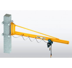 I Beam Long Reach Over Braced Wall Mounted Jib Crane