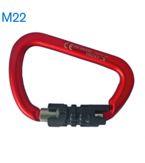 Tractel M22 Triple Locking Karabiner