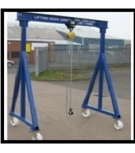 3000kg Mobile Gantry Crane