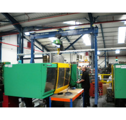 5000KG A Frame Lifting Gantry with 4.5MTR Under beam x 5MTR Span