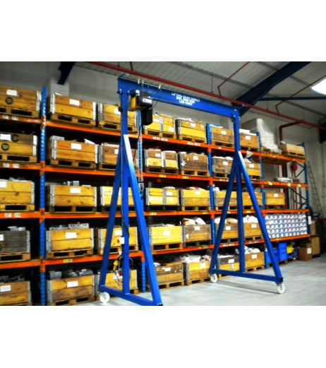 5000KG Mobile Lifting Gantry with 3.5MTR Under beam x 3MTR Span