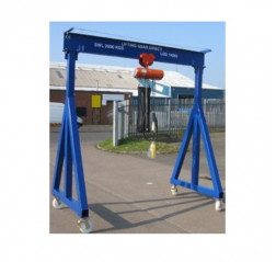 1000KG A Frame Lifting Gantry with 3MTR Under beam x 4MTR Span