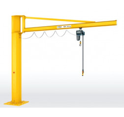 Demag KBK Lightweight Pillar Jib Crane