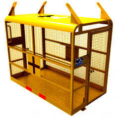 Rescue Safety Cage - Crane Slung - Contact FWP-CSG-HEF