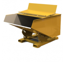 Lidded Tipping Skip Contact RFS-L