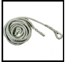 Ridgegear RGA10R single eye rope