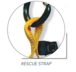 Ridgegear RGH5 Front & Rear D Rescue Harness
