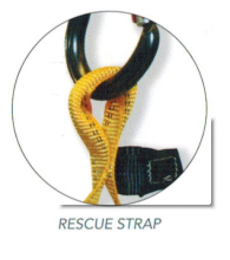 Ridgegear RGH5 Front & Rear D Rescue Harness