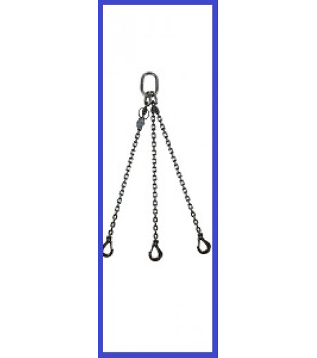 Stainless Steel 3 Leg Chain Sling