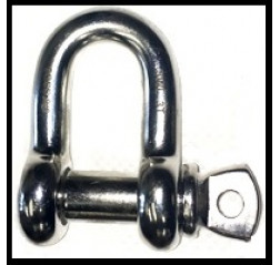 Stainless Steel High Tensile D Shackles