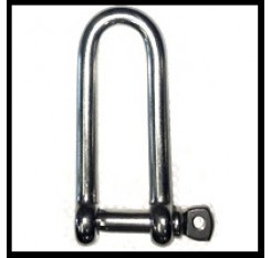 Stainless Steel Long D Shackle