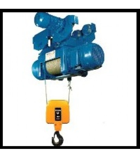 Standard Headroom Wire Rope Hoist (with trolley) - Misia XM