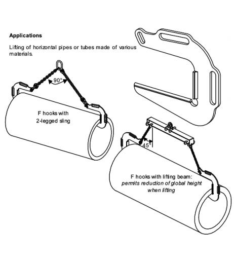 Topal TB Pipe Hooks