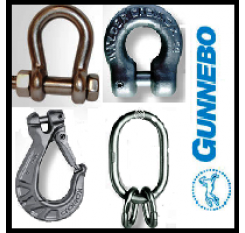Gunnebo Stainless Steel Chain & Components