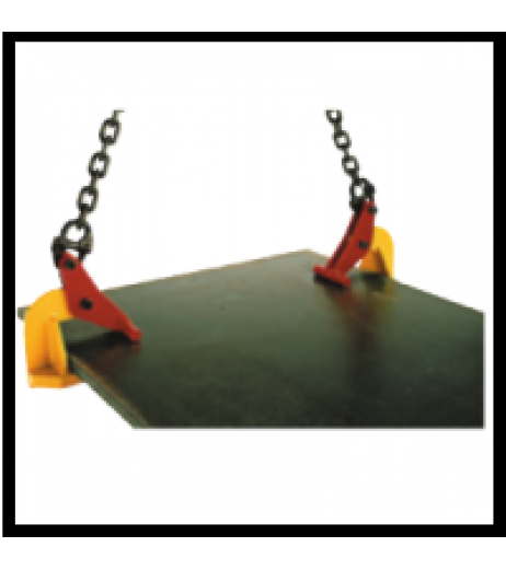 Topal TLH Horizontal Plate Clamp